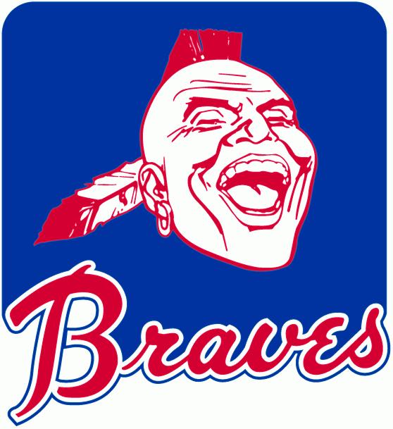 Atlanta Braves gamla logotyp som ansågs diskriminerande