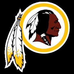 Amerikanska fotbollslaget Washington Redskins logotyp som avskaffades 2020