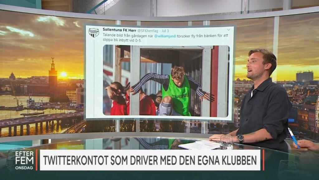 Svensk fotbolls roligaste Twitter-konto?