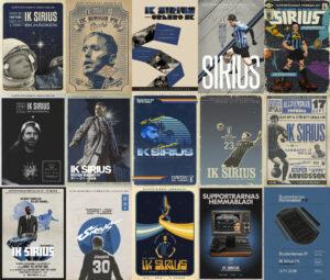 Flera IK Sirius matchprogrammen / Supportrarnas Hemmablad